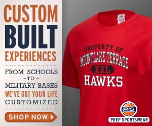Mountlake Terrace Hawks Football High School  Custom Sportswear, Merchandise & Apparel including T-Shirts, Sweatshirts, Jerseys & more